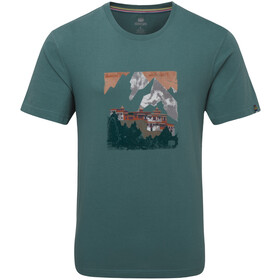 Sherpa Mandir Camiseta Hombre, khola
